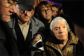 Lyudmila Alexeyeva at the Strategy 31 rally in Moscow on October 31, 2010. Source: ITAR-TASS/RIA Novosti