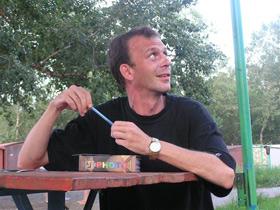Mikhail Afanasyev, editor-in-chief of Novy Fokus