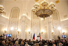 Dmitri Medvedev addressing the Federal Assembly. Source: kremlin.ru