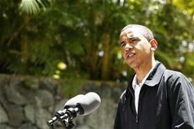 Barack Obama. August 2008.  Source: Reuters