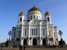 Cathedral of Christ the Savior. Source: Goeasteurope.about.com