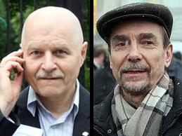 Mikhail Shneyder and Lev Ponomarev. Sources: Rusolidarnost-msk.ru & S45.radikal.ru