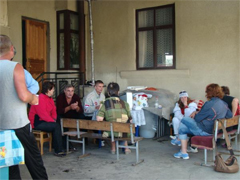 Imeretinskaya Valley residents on hunger strike, May 24, 2010. Source: Vesti-sochi.ru