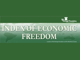 Index of Economic Freedom graphic