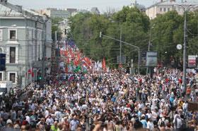 Protest in Moscow on June 12, 2012. Source: Kirill Lebedev/Gazeta.ru