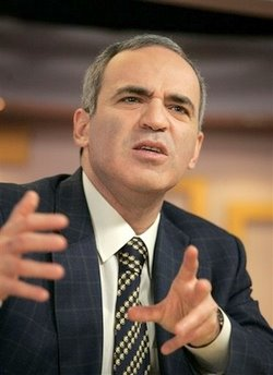 Garry Kasparov Source: AP/Ivan Sekretarev