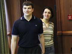 Nikita Tikhonov and Yevgenia Khasis. Source: RIA Novosti
