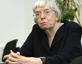 Lyudmila Alexeyeva. Source: Inoforum.ru