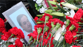 The funeral of Sergei Magnitsky. Source: RIA Novosti/Andrey Stepin