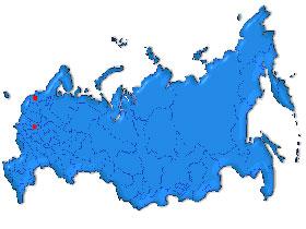 Map of Russia. Source: allrussia.ru