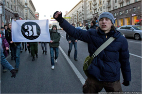 Strategy 31 in Moscow, March 31, 2011. Source: Ilya Varlamov