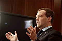 Dmitri Medvedev. Source: Aftenposten newspaper