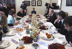 Vladimir Putin meets with Russian cultural figures, May 29, 2010. Source: Premier.gov.ru