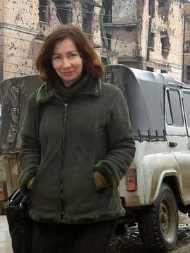 Natalya Estemirova.  Source: Ria Novosti