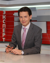 Slain journalist Dmitri Okkert. Source: Tv.expert.ru