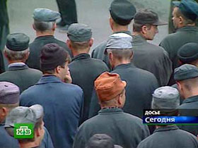 Prisoners in a penal colony. Source: NTV