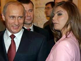Putin with Kabaeva.  Source: AP (c)