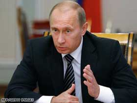 Putin.  Source: AFP/Getty