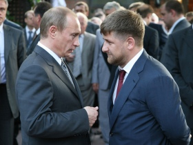 Vladimir Putin and Razman Kadyrov. Source: Assalam.ru