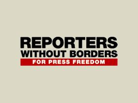 Reporters Without Borders logo. Source: rfs.org