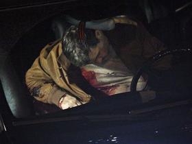 Ruslan Yamadayev crime scene.  Source: Kommersant
