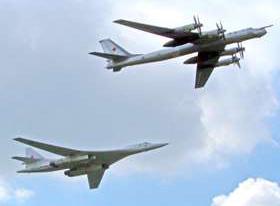 Russian bombers. Source: Izvestia. Photo by: Vladimir Smolyakov