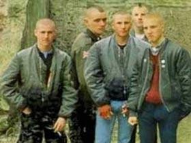 Russian skinheads. Source: sem40.ru