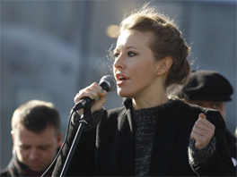 Ksenia Sobchak. Source: Reuters