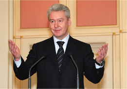 Moscow Mayor Sergei Sobyanin. Source: Mr7.ru