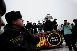 Day of Wrath protest in Moscow on February 12, 2011. Source: Kasparov.ru