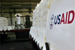 USAID. Source: Reuters