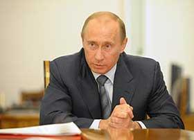 Vladimir Putin.  Source: Itar-Tass