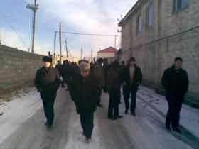 Walking demonstrators. source: ingushetiya.ru