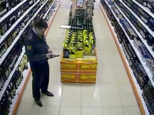 CCTV footage of Yevsyukov during a drunken killing spree.